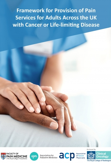 Cover image of guidance on cancer framework