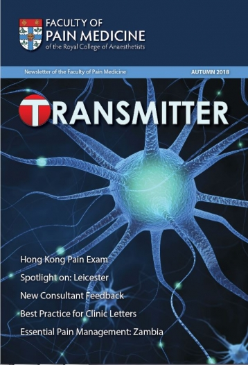 Transmitter Autumn 2018 cover