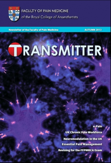 Transmitter Autumn 2013 cover