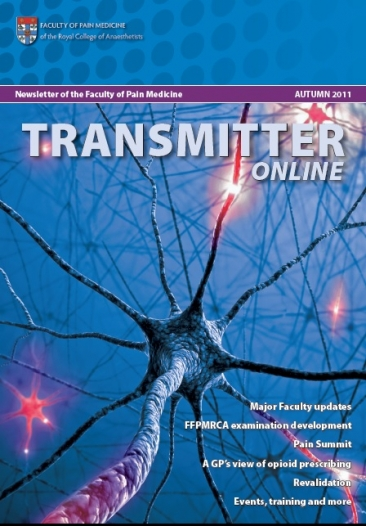 Transmitter Autumn 2011 cover