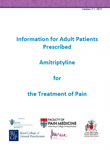 Cover for Amitriptyline PIL